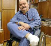 Antonim Klisowski z Warszawy, cukrzyk, 62-latek na rencie.